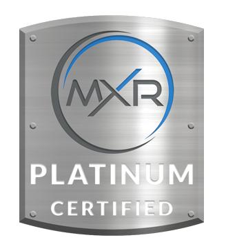MXR Platinum Certified